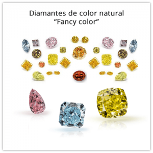 Diamantes de color naturales