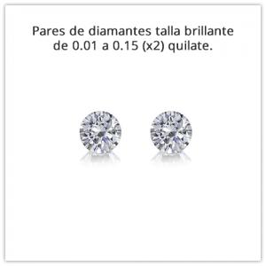 Pares de diamantes