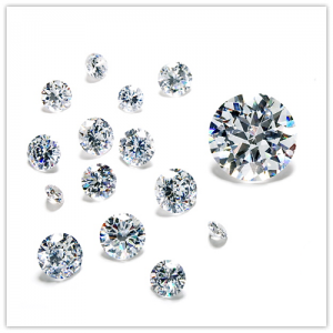 Diamantes pequeños sueltos