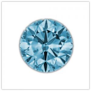 Diamantes de color Aqua Blue