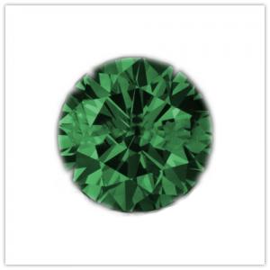 Diamantes de color Forest green