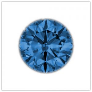 Diamantes de color Ocean blue