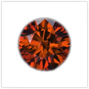 Diamantes de color Orange cognac