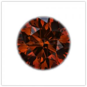 Diamantes de color Redish cognac