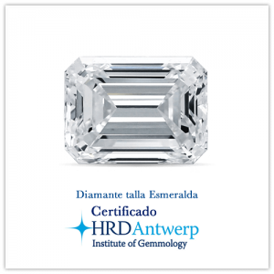 Diamante talla esmeralda
