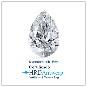 Diamante talla pera